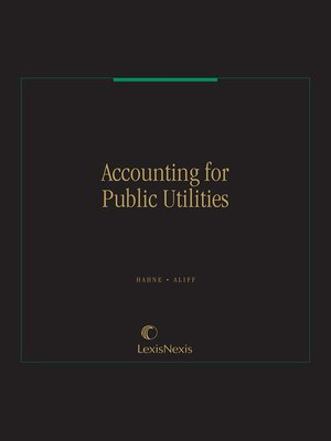cover image of Accounting for Public Utilities