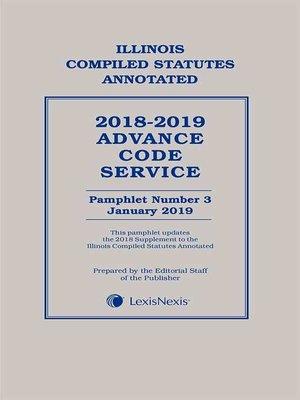 cover image of Illinois Advance Code Service
