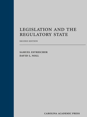 cover image of Legislation and the Regulatory State