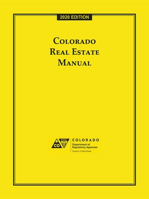 cover image of Colorado Real Estate Manual