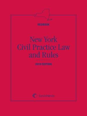cover image of New York CPLR