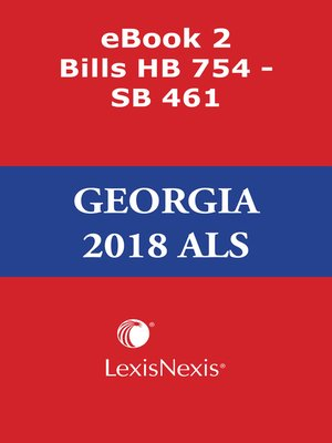 cover image of Georgia Advance Legislative Service