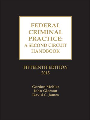 cover image of Federal Criminal Practice