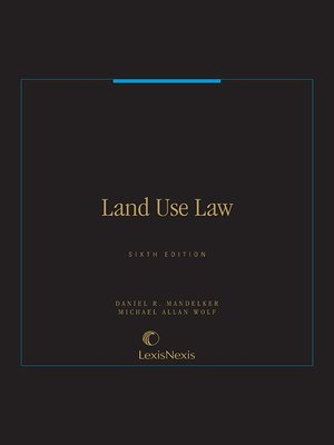 cover image of Land Use Law