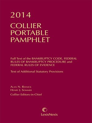 cover image of Collier Portable Pamphlet