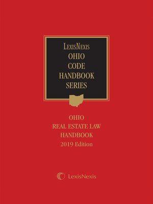 cover image of Ohio Real Estate Law Handbook