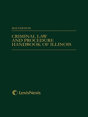 cover image of Criminal Law and Procedure Handbook of Illinois