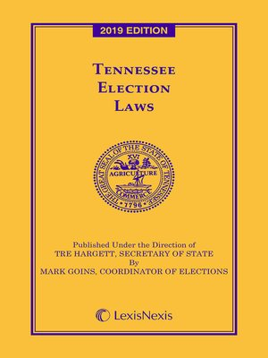 cover image of Tennessee Election Laws