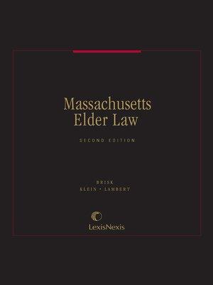 cover image of Massachusetts Elder Law