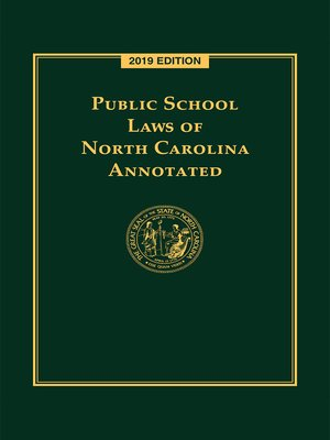 cover image of Public School Laws of North Carolina