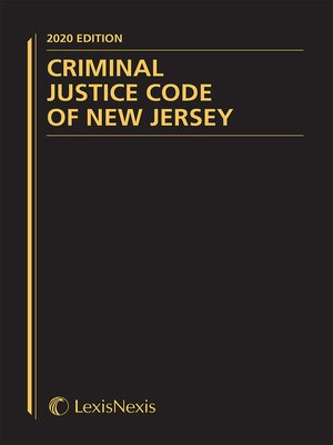 cover image of Criminal Justice Code of New Jersey