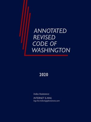 cover image of Annotated Revised Code of Washington