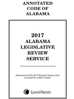 cover image of Alabama Legislative Review Service