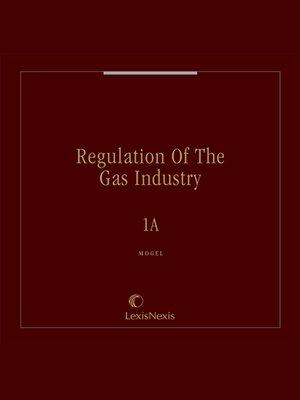 cover image of Regulation of the Gas Industry
