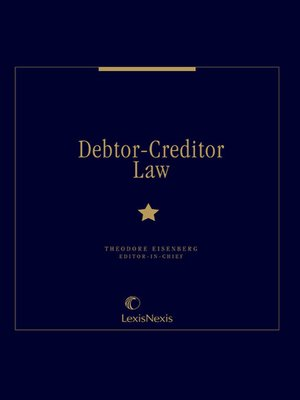 cover image of Debtor-Creditor Law