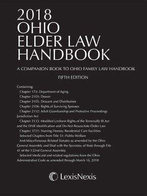 cover image of Ohio Elder Law Handbook