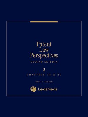 cover image of Patent Law Perspectives