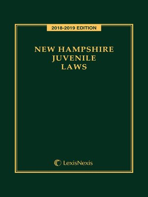 cover image of New Hampshire Juvenile Laws