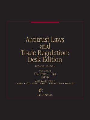 cover image of Antitrust Laws and Trade Regulation