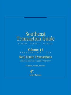 cover image of Southeast Transaction Guide: Florida, Georgia, and Alabama