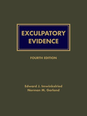 cover image of Exculpatory Evidence