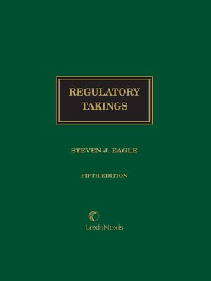 cover image of Regulatory Takings