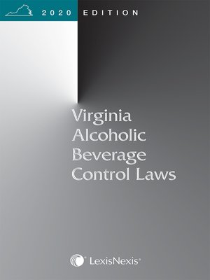 cover image of Virginia Alcoholic Beverage Control Laws