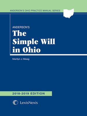 cover image of Anderson's The Simple Will in Ohio
