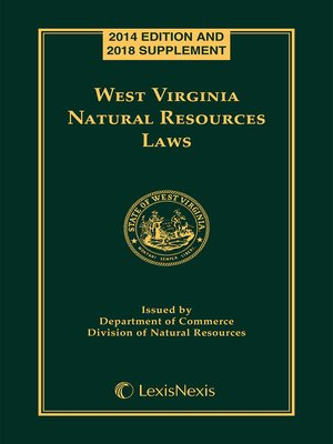 cover image of West Virginia Natural Resources Laws