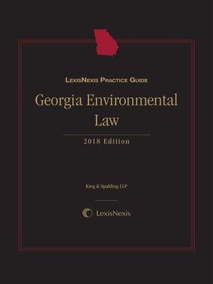 cover image of LexisNexis Practice Guide: Georgia Environmental Law