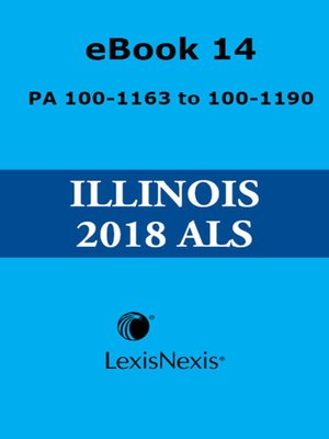 cover image of Illinois Compiled Statutes Annotated Advance Legislative Service