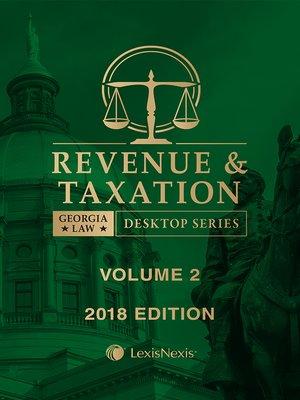 cover image of Georgia Revenue and Taxation Law