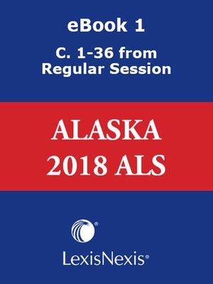 cover image of Alaska Advance Legislative Service