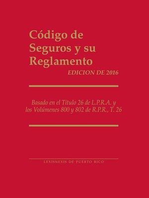 cover image of Codigo de Seguros y su Reglamento