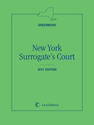 cover image of New York Surrogate's Court