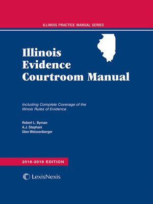 cover image of Illinois Evidence Courtroom Manual