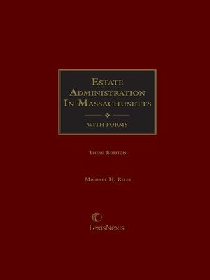 cover image of Estate Administration in Massachusetts