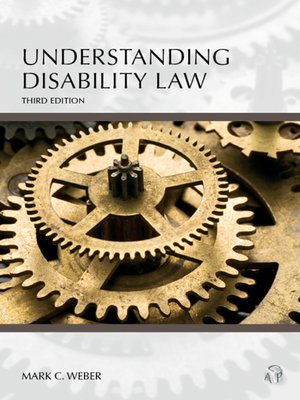 Cover of Understanding Disability Law