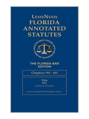 cover image of LexisNexis Florida Annotated Statutes, The Florida Bar Edition