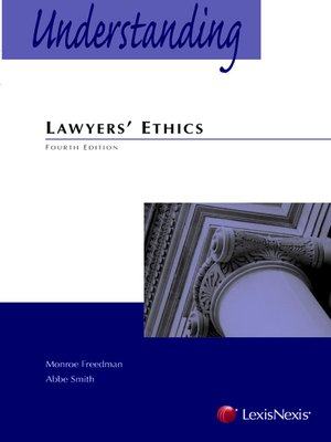 cover image of Understanding Lawyers' Ethics