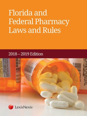 cover image of Florida and Federal Pharmacy Laws and Rules