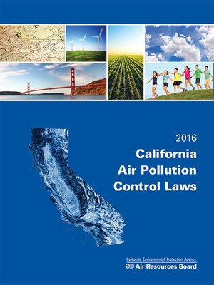 cover image of California Air Pollution Control Laws
