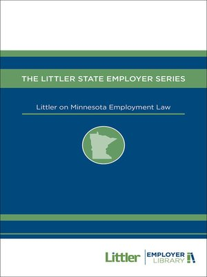cover image of Littler on Minnesota Employment Law