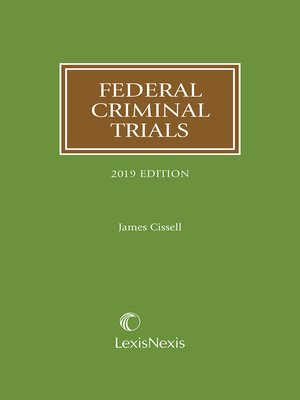 cover image of Federal Criminal Trials
