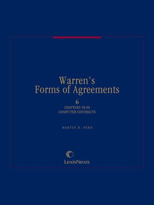 cover image of Warren's Forms of Agreements