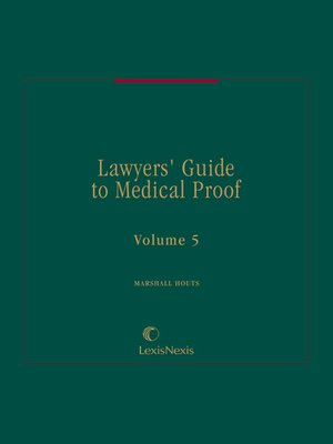 cover image of Lawyers' Guide to Medical Proof