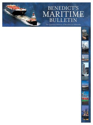cover image of Benedict's Maritime Bulletin