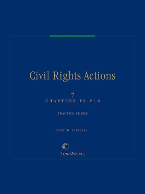 cover image of Civil Rights Actions