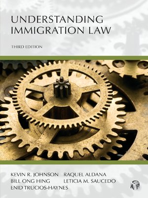 Cover of  Understanding Immigration Law