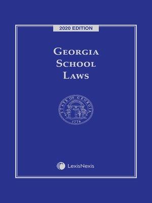 cover image of Georgia School Laws